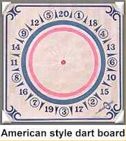 American Style Dart Board