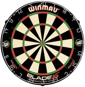 English style dartboard